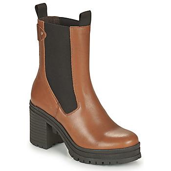 Chaussures Femme Bottines Palladium Manufacture MONA 02 NAP Marron