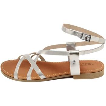 Chaussures Femme Sandales et Nu-pieds Via Fratina  Argento