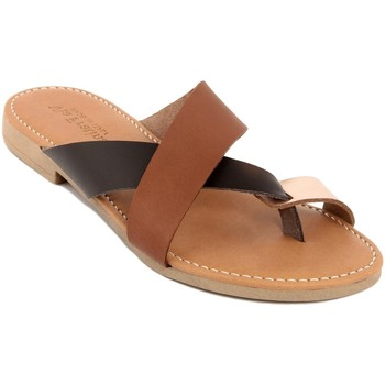 Chaussures Femme Mules Via Fratina  Marrone