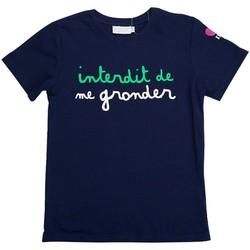 Vêtements Enfant T-shirts manches courtes Interdit De Me Gronder CUP Multicolore