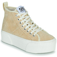 Chaussures Femme Baskets montantes No Name IRON MID Beige
