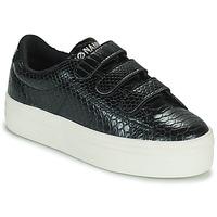 Chaussures Femme Baskets basses No Name PLATO M STRAPS Noir