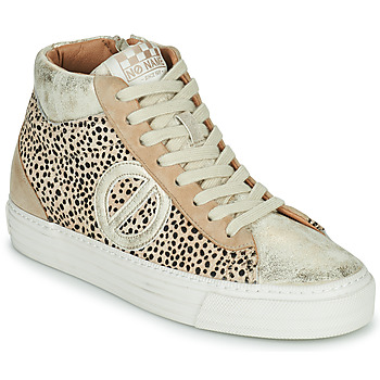 Chaussures Femme Baskets montantes No Name STRIKE MID CUT Beige