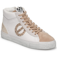 Chaussures Femme Baskets montantes No Name STRIKE MID CUT Blanc