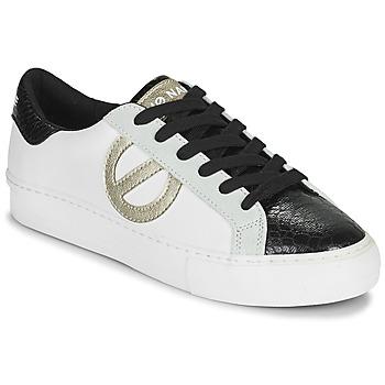Chaussures Femme Baskets basses No Name ARCADE SIDE Blanc / Noir