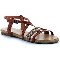 Chaussures Femme Sandales et Nu-pieds Porronet sandale Marron