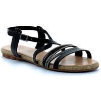 Chaussures Femme Sandales et Nu-pieds Porronet sandale Noir