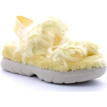 Chaussures Femme Chaussons UGG fluff sugar Jaune