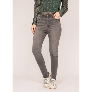 Vêtements Femme Jeans slim Dona X Lisa Jean slim gris EFFY Gris