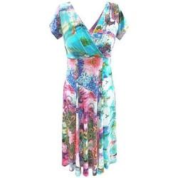 Vêtements Femme Robes Georgedé Robe Annie en Jersey Imprimée Multicolore