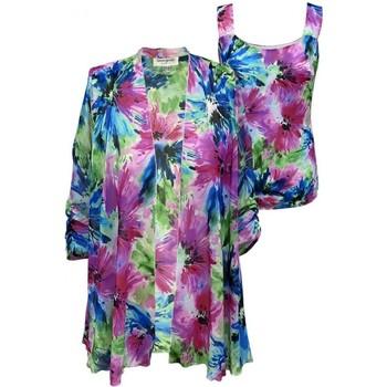 Vêtements Femme Vestes Georgedé Twinset Ornella en Mousseline Imprimé Multicolore