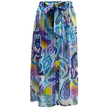 Vêtements Femme Jupes Georgedé Jupe Luana en Mousseline Imprimée Multicolore