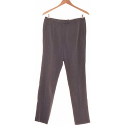 Vêtements Femme Pantalons fluides / Sarouels Un Jour Ailleurs Pantalon Slim Femme  40 - T3 - L Noir