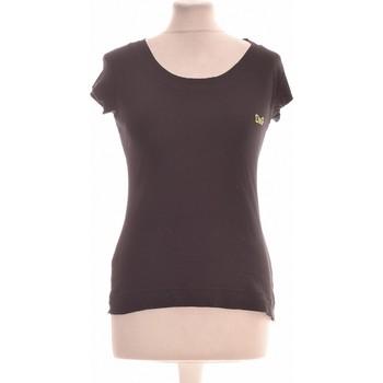 Vêtements Femme Tops / Blouses D&G Top Manches Courtes  36 - T1 - S Noir