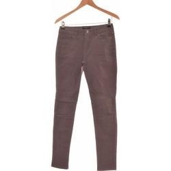 Vêtements Femme Jeans slim Galeries Lafayette Jean Slim Femme  34 - T0 - Xs Gris