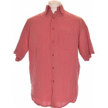 Vêtements Homme Chemises manches courtes Courreges Chemise Manches Courtes Courrèges 40 - T3 - L Rouge