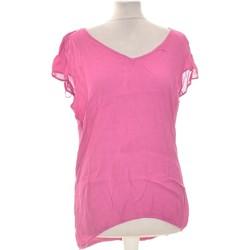 Vêtements Femme Tops / Blouses Grain De Malice Top Manches Courtes  42 - T4 - L/xl Rose