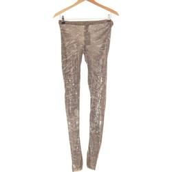 Vêtements Femme Leggings Patrizia Pepe Pantalon Droit Femme  38 - T2 - M Vert