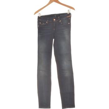 Vêtements Femme Jeans slim 7 for all Mankind Jean Slim Femme  34 - T0 - Xs Bleu