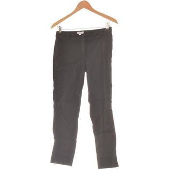 Vêtements Femme Pantalons cargo Grain De Malice Pantalon Droit Femme  36 - T1 - S Noir