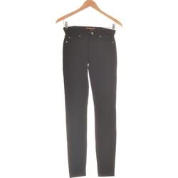 Vêtements Femme Pantalons 5 poches 7 for all Mankind Pantalon Slim Femme  36 - T1 - S Noir