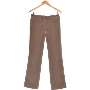 Vêtements Femme Pantalons 5 poches Barbara Bui Pantalon Droit Femme  36 - T1 - S Marron
