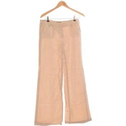 Vêtements Femme Pantalons fluides / Sarouels Barbara Bui Pantalon Bootcut Femme  38 - T2 - M Beige