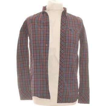 Vêtements Homme Chemises manches longues American Retro Chemise Manches Longues  38 - T2 - M Marron