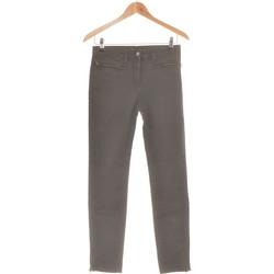 Vêtements Femme Chinos / Carrots Jacqueline Riu Pantalon Slim Femme  36 - T1 - S Gris