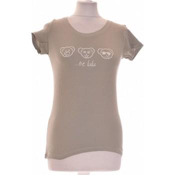 Vêtements Femme Tops / Blouses LuluCastagnette Top Manches Courtes  34 - T0 - Xs Vert
