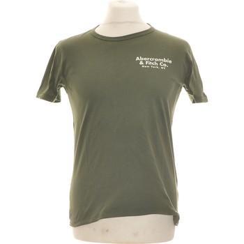 Vêtements Homme T-shirts manches courtes Abercrombie T-shirt Manches Courtes  34 - T0 - Xs Vert