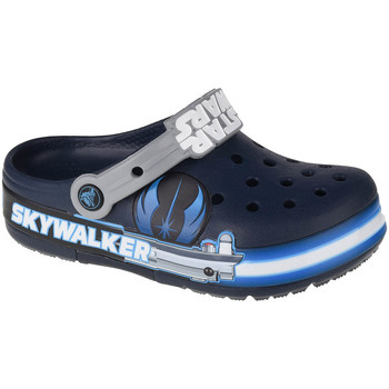 Chaussures Enfant Sabots Crocs Fun Lab Luke Skywalker Lights K Clog Bleu marine