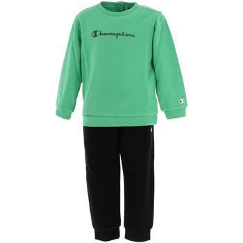 Vêtements Enfant Ensembles de survêtement Champion Ensemble baby aquanavy Vert d'eau aqua
