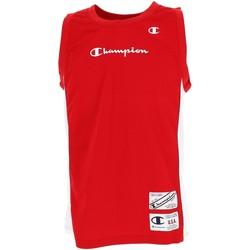 Vêtements Homme Débardeurs / T-shirts sans manche Champion Basket maillot h rouge Rouge
