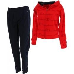 Vêtements Femme Ensembles de survêtement Champion Ensemble rouge noir fitness Rouge