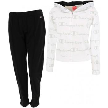 Vêtements Femme Ensembles de survêtement Champion Ensemble blanc noir fitness Blanc