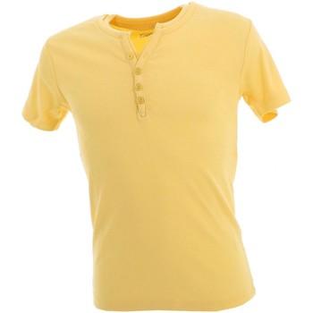 Vêtements Homme T-shirts manches courtes La Maison Blaggio Theo lt jne mel mc tee Jaune