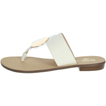 Chaussures Femme Tongs Gold & Gold GL632 Blanc