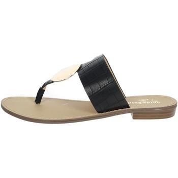 Chaussures Femme Tongs Gold & Gold GL632 Noir