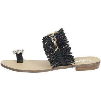 Chaussures Femme Tongs Gold & Gold GL613 Noir