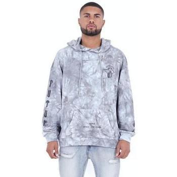 Vêtements Homme Sweats Sixth June Sweatshirt  Custom Tie Dye gris anthracite/rose hibiscus