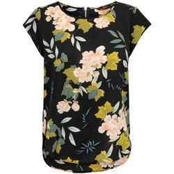 Vêtements Femme Tops / Blouses Only Haut femme  Vic manches courtes black faye flower