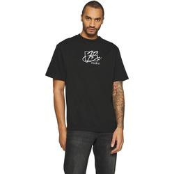 Vêtements Homme T-shirts manches courtes Fubu T-shirt  Script noir