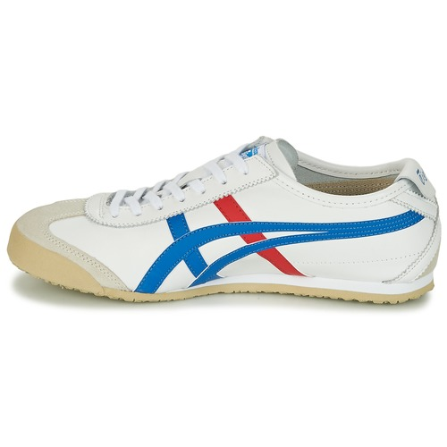 Tiger Mexico Basses Onitsuka BlancBleu Rouge 66 Baskets KF13lJTc