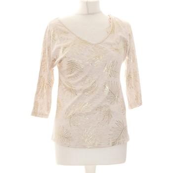Vêtements Femme Tops / Blouses Grain De Malice Top Manches Courtes  34 - T0 - Xs Beige