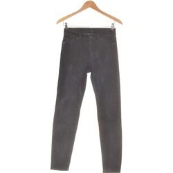 Vêtements Femme Pantalons 5 poches 7 for all Mankind Pantalon Droit Femme  34 - T0 - Xs Bleu