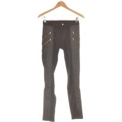 Vêtements Femme Chinos / Carrots 7 for all Mankind Pantalon Slim Femme  34 - T0 - Xs Noir