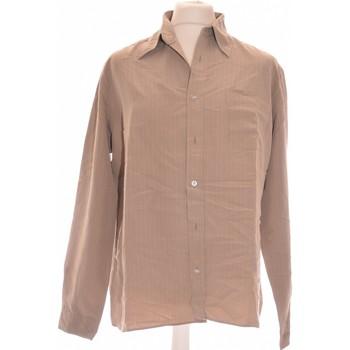Vêtements Homme Chemises manches longues Billabong Chemise Manches Longues  40 - T3 - L Beige