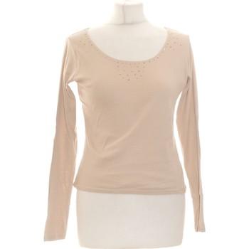 Vêtements Femme Tops / Blouses Armand Ventilo Top Manches Longues  38 - T2 - M Beige