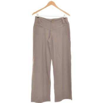 Vêtements Femme Pantalons fluides / Sarouels Lola Espeleta Pantalon Bootcut Femme  36 - T1 - S Gris